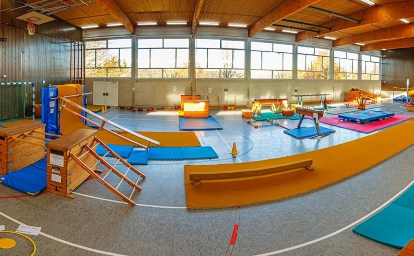 Unsere Sporthalle – ein Bewegungsparadies!
